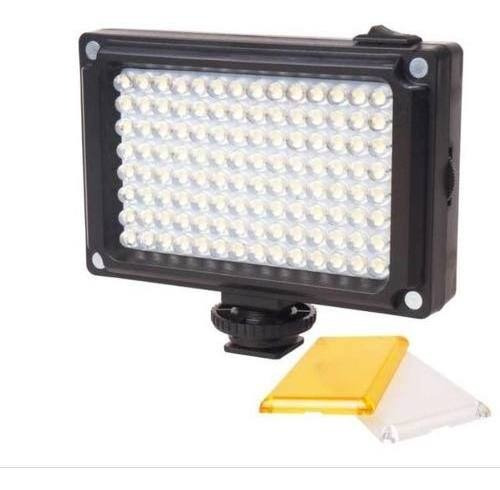 Luz De 96 Led Para Câmeras Dslr, Filmadoras E Stedicam