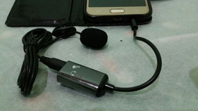 Microfone De Lapela Com Adaptador Para Celular Melhor Preço
