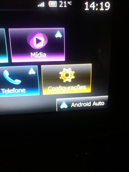 Novo Média Nav Android Renault Completo Com Câmera De Ré
