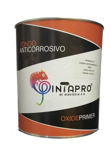 Galon Fondo Anticorrosivo Herreria Negro Oxiprimer Pf2n0011g