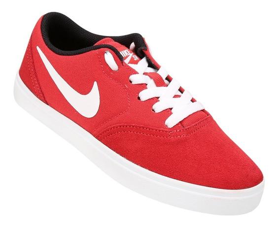 Tênis Nike Sb Check (gs) Vermelho Feminino - Frete Grátis