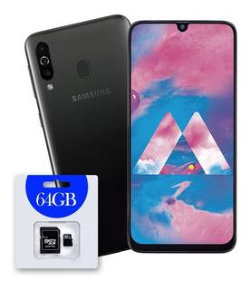 Celular Samsung Galaxy M30 64gb 4gb 3 Camara + Micro Sd 64gb