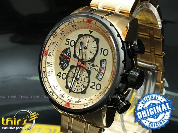 Relógio Invicta Aviator 17205 Novo Na Caixa