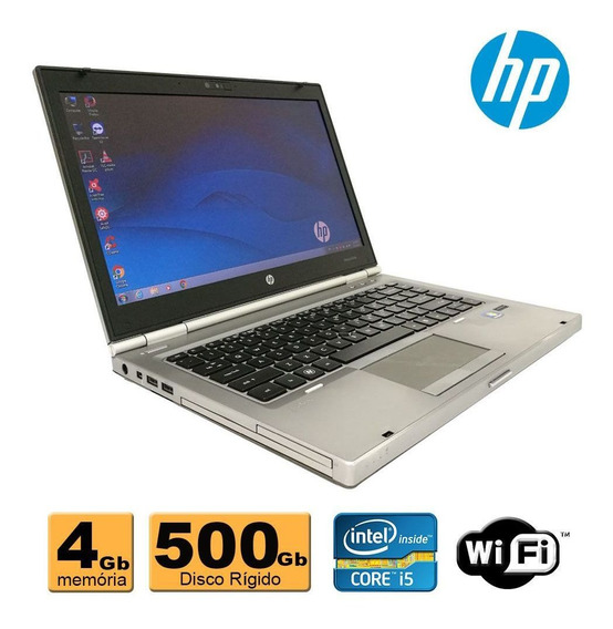 Notebook Hp Elitebook 8470b Core I5 4gb 500gb Wifi