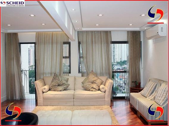 Apartamento À Venda | Bairro Jardim Marajoara | 06 Dormitórios, 02 Suítes, 04 Vagas E Área De 154m². - Mr58606