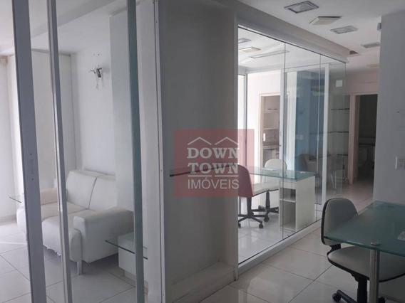 Downtown - Sala Para Alugar Por R$ 6.000/mês - Barra Da Tijuca - Rio De Janeiro/rj - Sa0297