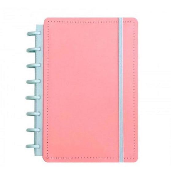 Caderno Inteligente 80f A5 Rosa Pastel 52037 Clapper