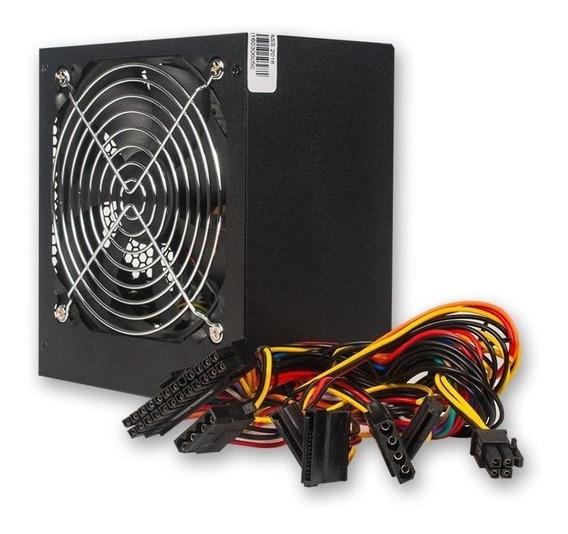 Fuente Para Pc Atx Noga Atx 700w Cooler Ventilador Sata Hdd