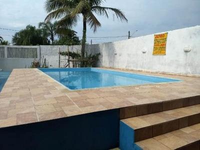 Casa Com Piscina E 4 Quartos Na Praia, Venha Conhecer!