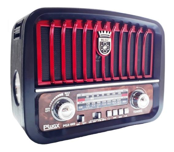 Rádio Vintage Antigo Retrô Clássico Fm Am Bateria E Energia