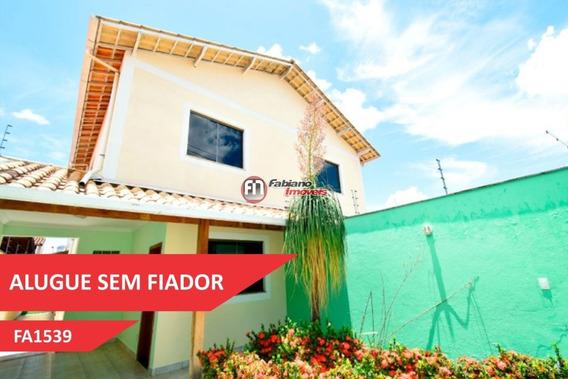 Casa Para Alugar 04 Quartos, Planalto, Belo Horizonte - Mg - 1539