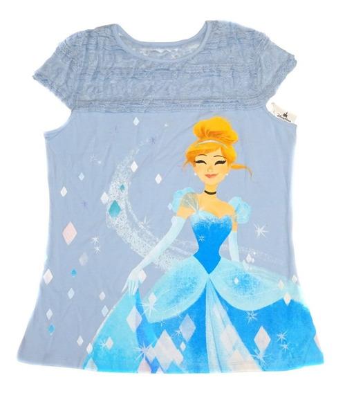 Remera Cenicienta Cinderella Disney Store Original