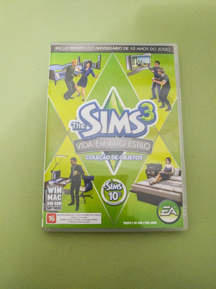 The Sims 3 Vida Em Alto Estilo Expansão - Original Usado