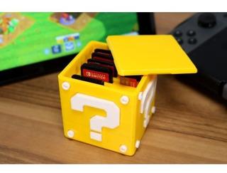 Cubo Super Mario Para Juegos Nintendo Switch (impresión 3d)