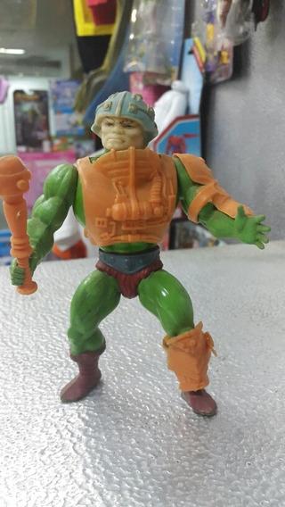 He Man Figura Man At Arms Vintage 80 Somos Tienda