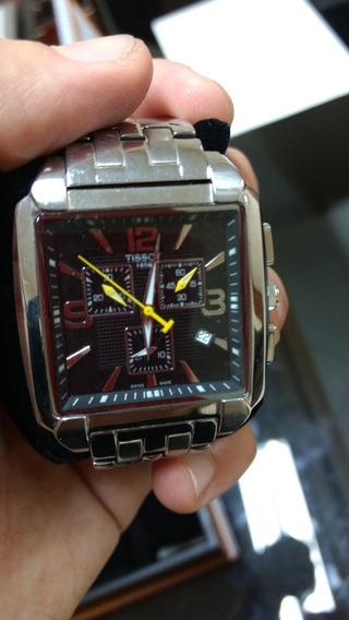 Relógio Tissot Crono Quadrado- Original Masculino