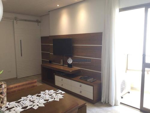 Imagem 1 de 18 de Apartamento À Venda, 76 M² Por R$ 450.000,00 - Jardim Satélite - São José Dos Campos/sp - Ap3907