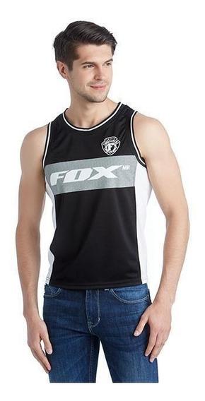 Playera Fox Negra Pr-1703442