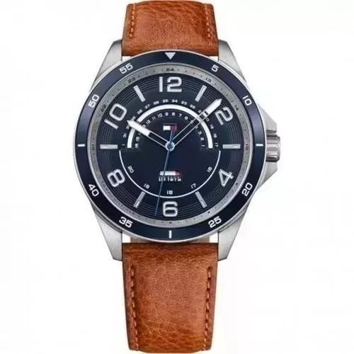 Relógio Tommy 1791391 Marrom-escuro