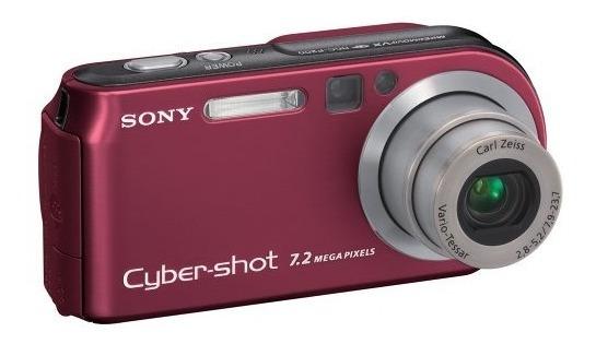 Câmera Digital Sony Cyber-shot 7.2 Mega Pixels Dsc-p200
