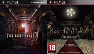 Resident Evil Zero Hd + Resident Evil 1 Hd ~ Ps3 Digital