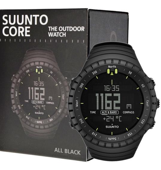 Suunto Core All Black Outdoor Watch With Altimeter Baromete
