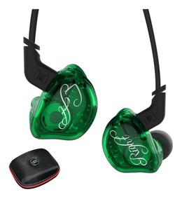 Kz Zsr Sem Microfone + Case Kz (retorno De Palco 3 Drives)