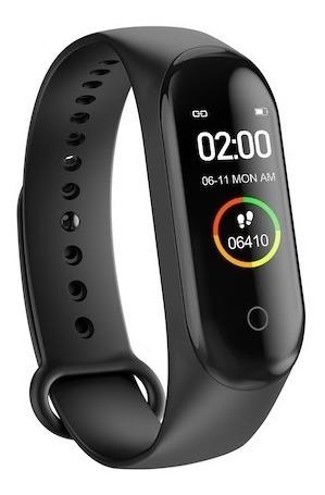 Reloj Smart Band M4 Táctil Con Frecuencia Cardiaca,medición