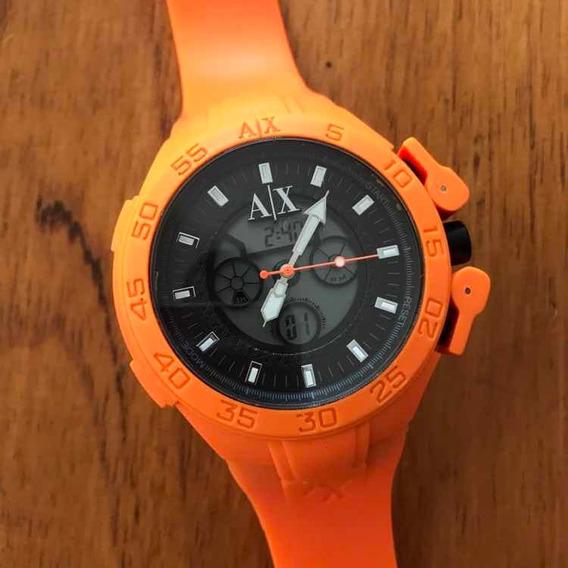 Relógio Armani Exchange Laranja Ax1286