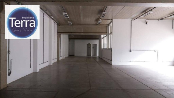 Galpão Para Alugar, 1200 M² Por R$ 20.000/mês - Parque Industrial San José - Granja Viana - Ga0185