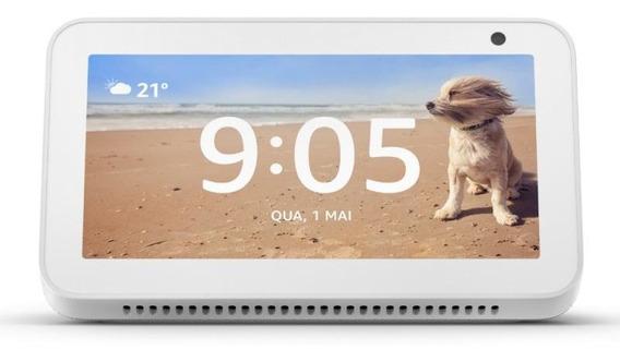 Echo Show 5 Amazon Smart Speaker Branca Alexa Em Portugues C