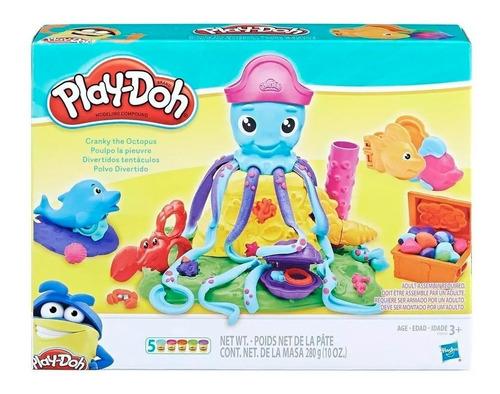 Play-doh Pulpo Divertidos Tentaculos Cranky E0800 Edu Full