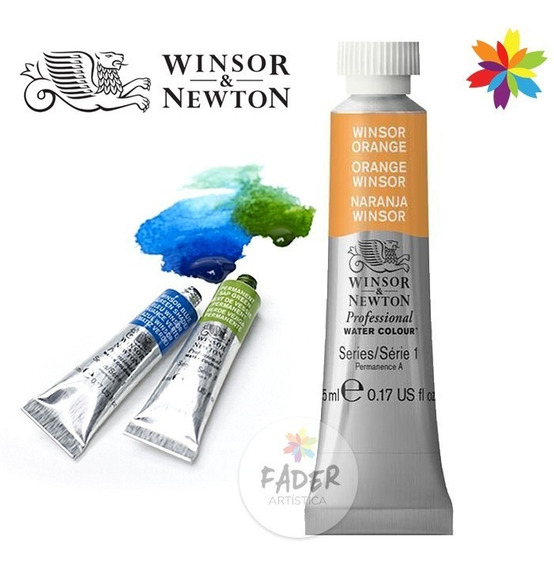 Acuarelas Profesionales Winsor Newton Pomo De 5ml Serie 1