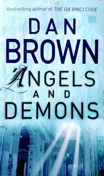 Livro Angels And Demons De Dan Brown Corgi Books B1861