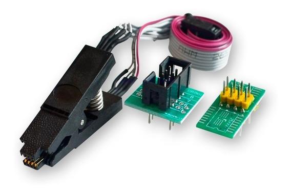 Pinza Soic8 Soic 8 A Dip8 Con Cable. P/ Programador Ch341a