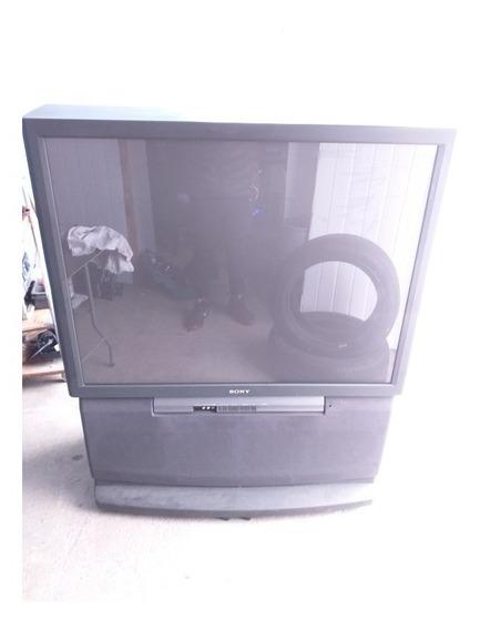 Tv De Projeção Sony 61 + Conversor Digital