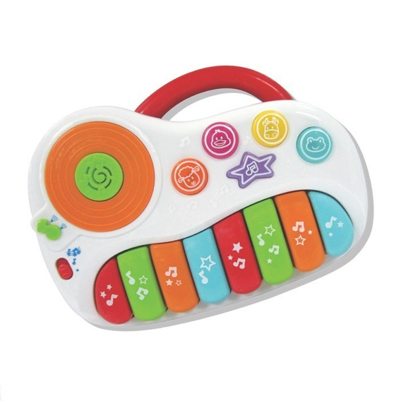 Brinquedo Pianinho Musical Divertido Beat Bop Win Fun 2001
