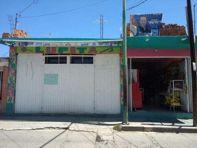 Casa En Barrio El Chaveño, Rincón De Romos, Ags.