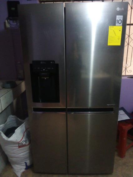 Refrigeradora Lg Side By Side Con Dispensador Seminueva