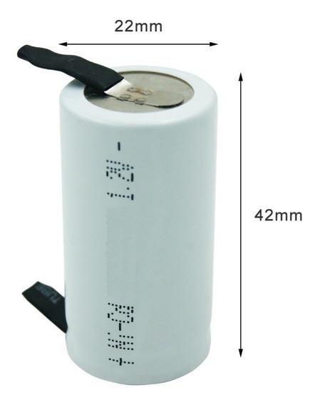 Bateria Parafusadeira Pilha Sc Sub-c 1,2v 1800mah Terminal