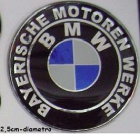 Adesivo Descritivo Bmw Resinado Moto Carros 2,5cm Dia. T3at