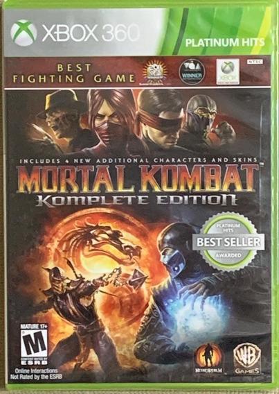 Jogo Mortal Kombat Komplete Edition Xbox 360
