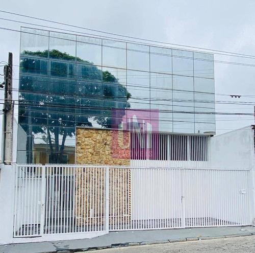 Galpão, 715 M² - Venda Por R$ 2.000.000,00 Ou Aluguel Por R$ 13.000,00/mês - Vila Sacadura Cabral - Santo André/sp - Ga0124