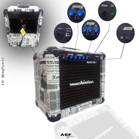 Cubo Amplificador Guitarra Mackintec Maxx15 Jornal
