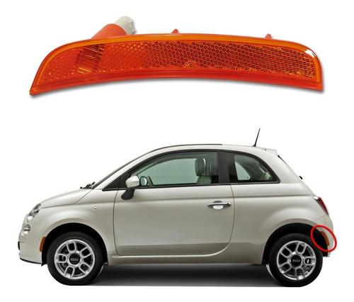 Imagem 1 de 3 de Lanterna Refletora Do Parachoque Fiat 500 Traseira Esquerda