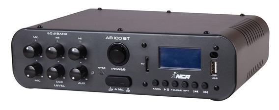 Amplificador Nca Ab100 Bt 100w