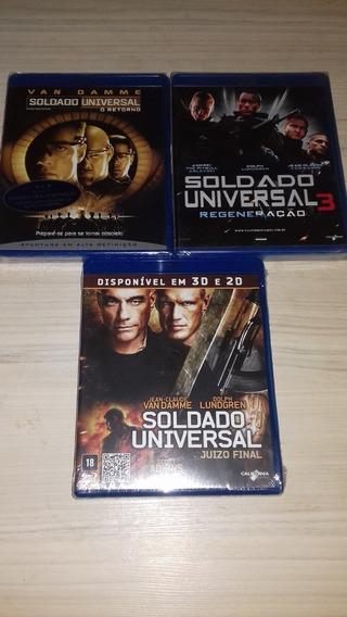 Blu Ray Soldado Universal