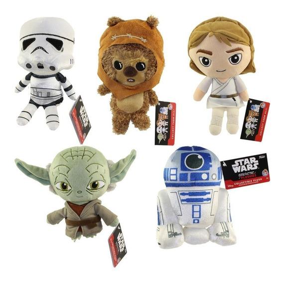 Pelucia Star Wars Funko Plushies Yoda Luke R2d2 Stormtrooper