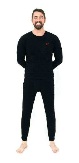Conjunto Calça Blusa Térmica Segunda Pele Frio Proteção Uv