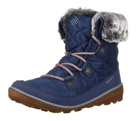 Bota Columbia Heavenly Shorty Omni Heat Waterproof Mujer
